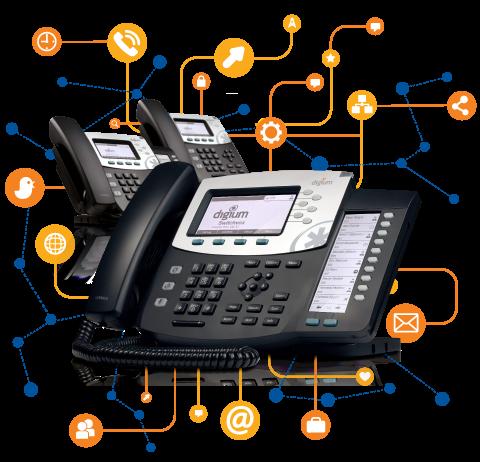 Телефон Digium